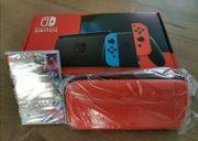 Nintendo Switch rot und blau