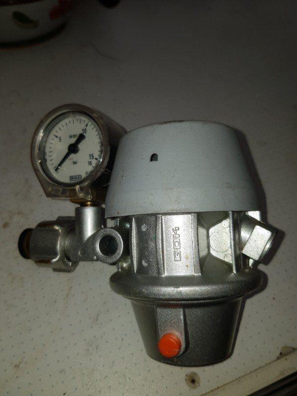 Gasdruck Regler