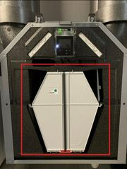 Wärmetauscher Zehnder Comfoair Q350 Q450