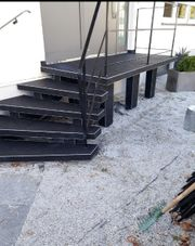 Steinteppiche Treppenbeschichtung