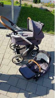 Mutsy Evo Kinderwagen inkl Babywanne
