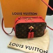 Louis Vuitton Saintonge Copuelicot Rot