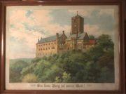 Wartburg Bild mit Rahmen