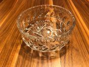 Glasschale Glasschüssel mit Muster Glas