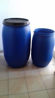 Kunststoff Fässer