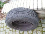 4 Kompletträder Reifen Stahlfelgen M