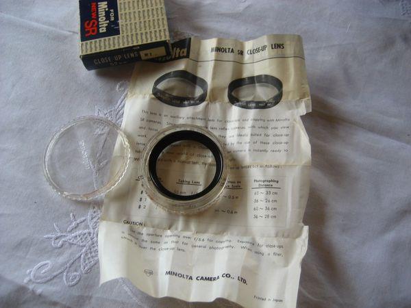 Minolta Close Up Lens 52mm