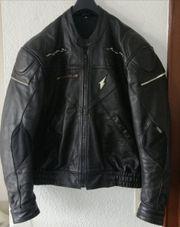 Hochwertige Biker-Lederjacke Gr42