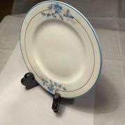 Teller Keramik mit Blumen 4