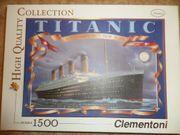 Puzzle von der Titanic mit