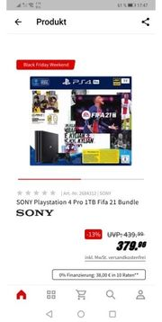 PS 4 1 TB FIFA