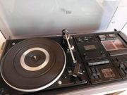 Plattenspieler Radio Kassette