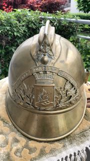 Französischer Feuerwehr Helm