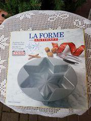 Hochwertige Weihnachtsstern-Backform La Forme von