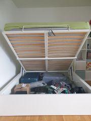 Bett Ikea Malm 160x180 weiß
