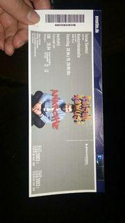 Faisal Kawusi Eintrittskarte