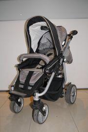Schöner Teutonia Kinderwagen mit Babynest