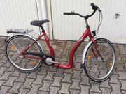 Alu Fahrrad rot 26 Zoll