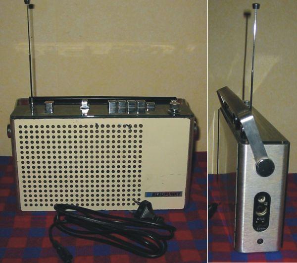 funktionierendes Sammler Kofferradio Blaupunkt Derby