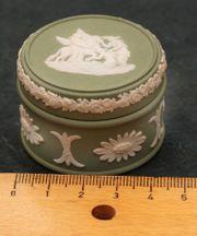 Sammlung Wedgwood Jasperware Pillbox Keramik