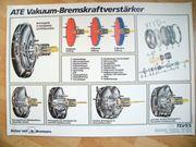 ATE Vakuum Bremskraftver Fahrschule Werkstatt