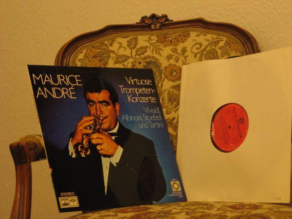 Maurice André-Virtuose Trompetenkonzerte Vinyl LP