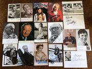 Konvolut verschiedener älterer Autogramme