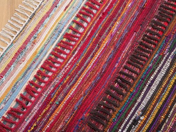 Teppich dunkelbunt 140 x 200