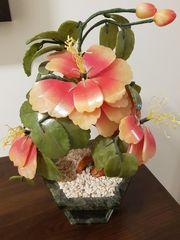 Edelstein Blumentopf Blumen