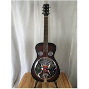 Johnson Dobro Roundneck Resonator-Gitarre Single-Spider-Cone