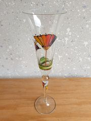 Glas Gläser bemalt