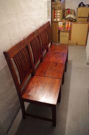 Holz Stühle Massivholz wunderschönes Muster