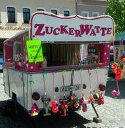 Verkaufswagen -anhänger Zuckerwatte Umbau Friedel