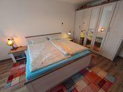 Schlafzimmerset Bett Kleiderschrank Luca Roller