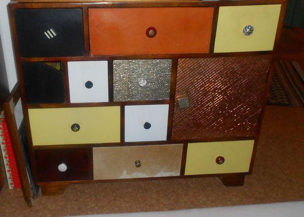 Schubladen Kommode Sideboard massiv Mangoholz