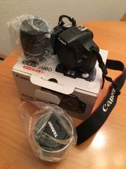 Canon 500D mit zwei Objektiven