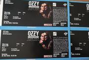 4x TOP SITZPLÄTZE Ozzy Osbourne