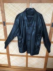 Lederjacke schwarz XL - Topzustand