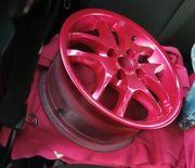 Platin Felgen mit Reifen