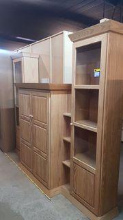 Wohnzimmerschrank Pinie 330x216x55 hochwertig - H270113