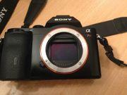 Sony a7r - Nur Body