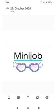 Welche Frau sucht Minijob
