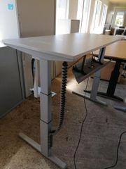 Steh-Sitz-Schreibtisch Werndl Steelcase Bürotisch Arbeitstisch