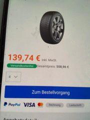 winterreifen Blizzak mit Alufelgen Audi