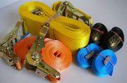 Ladungssicherungen für Lkw Stapler Baumaschinen