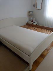 HÜLSTA Schlafzimmer elegantes weißes Bett