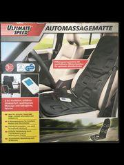 beheizbare Massagenauflage für Auto und