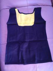 Slimming Black Vest Neoprene Body