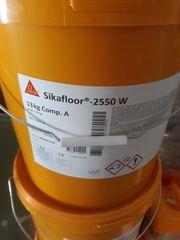 Sika 2 K Bodenfarbe Kieselgrau