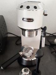 DeLonghi Espressomaschine Siebträger 2 tassen